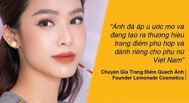 """""""Phù thủy makeup"""" Việt Nam và thương hiệu mỹ phẩm của riêng mình"""