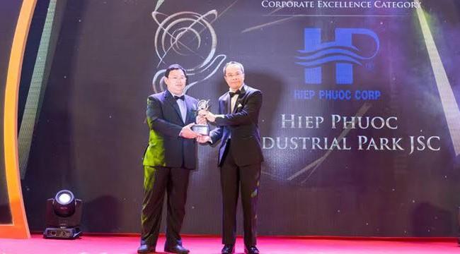 Công ty Cổ phần Khu công nghiệp Hiệp Phước được vinh danh Doanh nghiệp xuất sắc Châu Á 2018