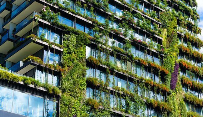 Sống xanh giữa nội đô với căn hộ FLC Green Apartment