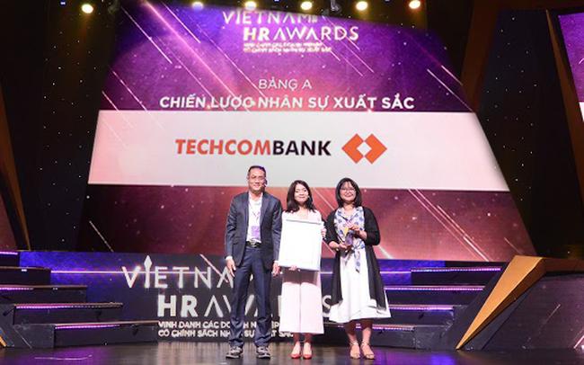 Techcombank thắng lớn tại giải thưởng uy tín Vietnam HR Awards2018