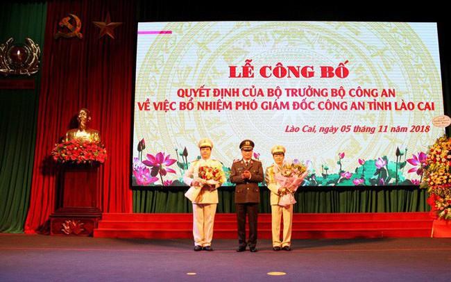 Lào Cai bổ nhiệm 02 Phó Giám đốc Công an tỉnh