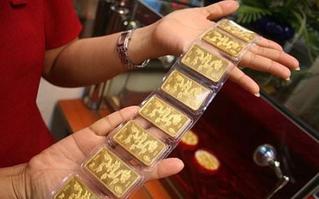 Giá vàng SJC bật tăng sau 2 phiên giảm mạnh