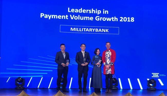 MB nhận 2 giải thưởng danh giá từ Tổ chức thẻ Quốc tế Visa