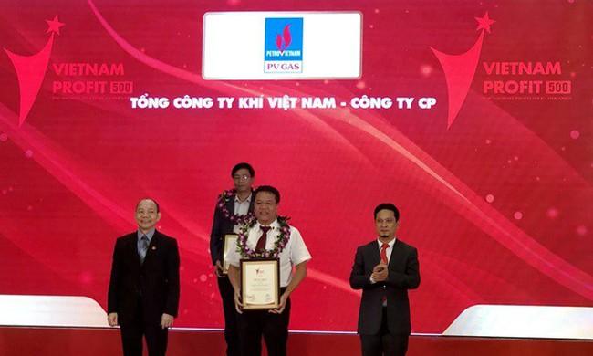PVN, PV GAS được Vietnam Report vinh danh, đứng hàng đầu Top 500 doanh nghiệp Việt Nam năm 2018