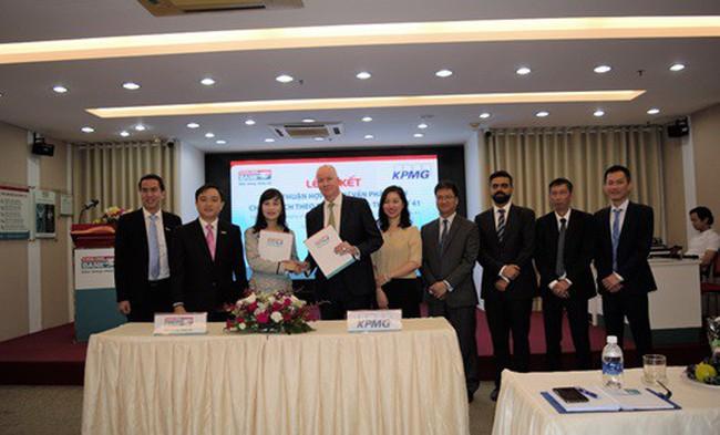 KPMG và Kienlongbank ký kết thỏa thuận hợp tác tư vấn