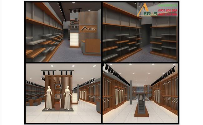 Công ty thiết kế thi công cửa hàng chuyên nghiệp - nội thất Aeros
