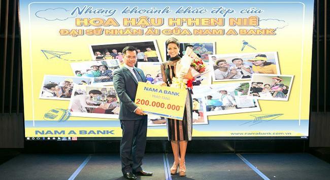 H'hen Niê dành 200 triệu tiền thưởng từ Nam A Bank cho các hoạt động cộng đồng
