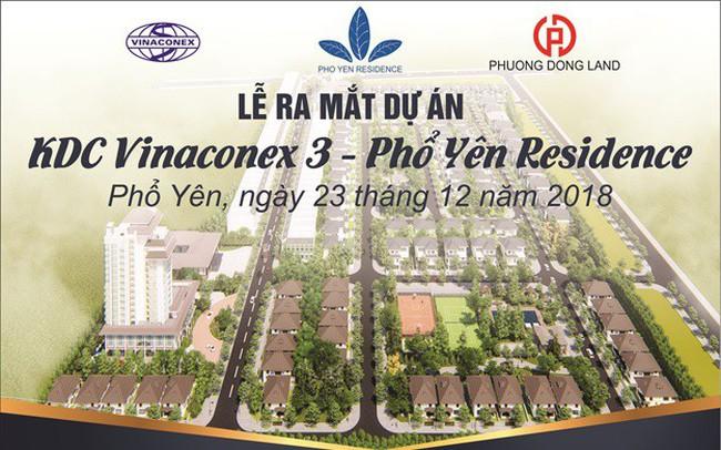 Vinaconex ra mắt dự án khu dân cư cao cấp thời thượng tại Thái Nguyên