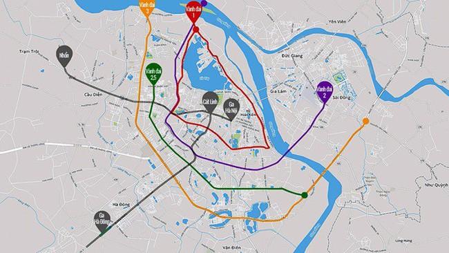 Vành đai 2,5 kết nối đô thị trung tâm với các đô thị vệ tinh