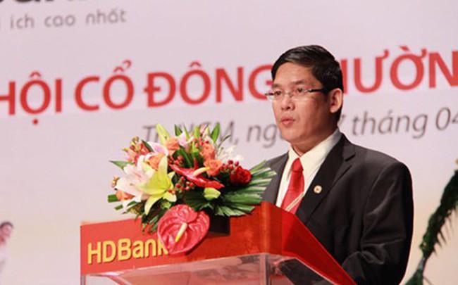 Tổng giám đốc HDBank vừa mua xong 375.000 cổ phiếu HDB