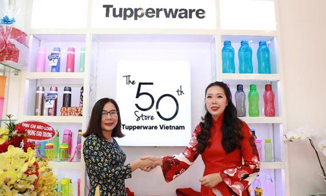 Tupperware Việt Nam đánh dấu tuổi lên 2 với 50 cửa hàng tại 8 thành phố