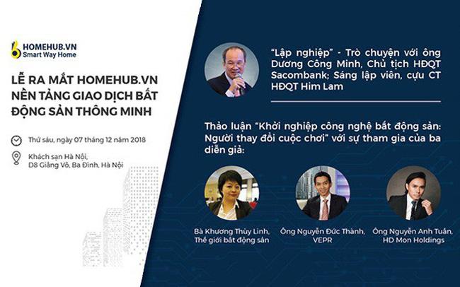 HomeHub.vn – Nền tảng công nghệ thông minh về bất động sản chính thức ra mắt, được ngay các nhà phát triển bất động sản hàng đầu Việt Nam hợp tác chiến lược