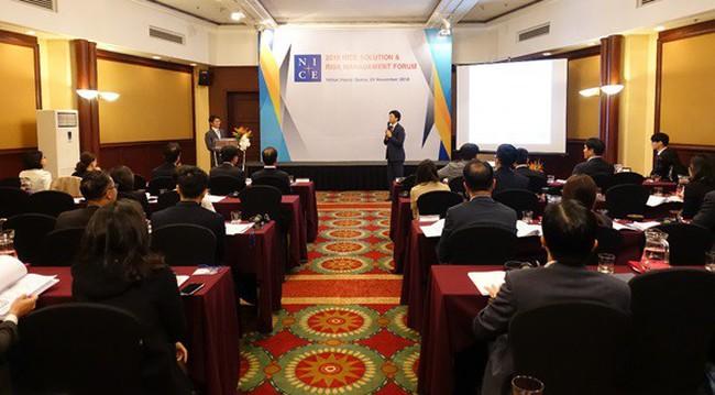 Hội thảo ''Giới thiệu giải pháp quản trị rủi ro'' của Tập đoàn NICE