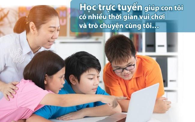 """Phụ huynh nói về """"3 có"""" và """"3 không"""" khi chọn phương pháp học trực tuyến cho con"""