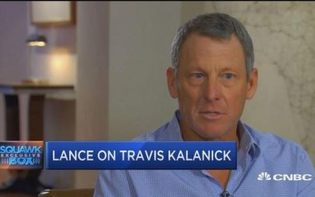 Huyền thoại ngã ngựa Lance Armstrong và khoản đầu tư đã cứu gia đình chúng tôi vào Uber - ảnh 1