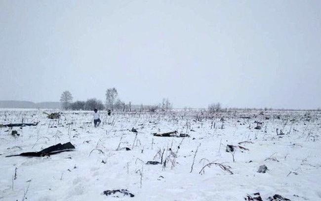Vụ rơi máy bay ở Nga: Không có người Việt trong danh sách nạn nhân