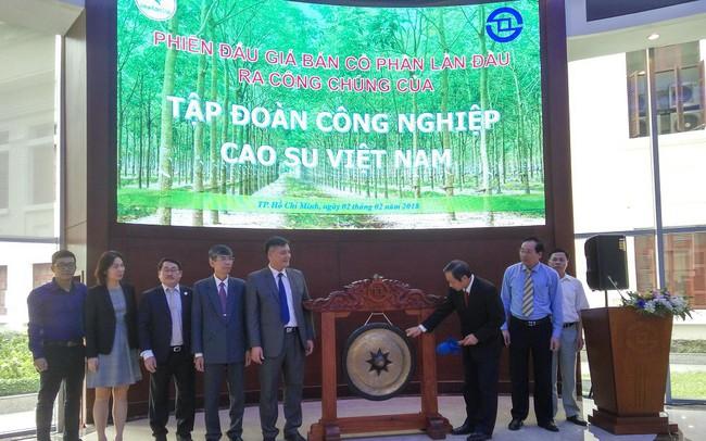 IPO Tập đoàn Cao Su (VRG): 'Bom tấn' đầu tiên trở thành 'bom xịt'