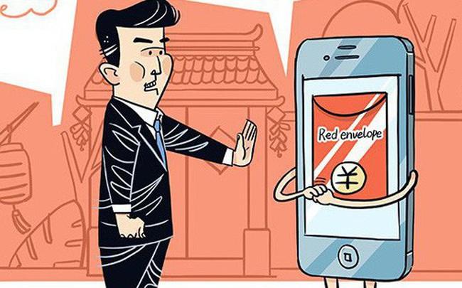 """Quan chức Trung Quốc nhận lì xì điện tử cũng không thoát khỏi """"lưới trời"""" của ông Tập"""