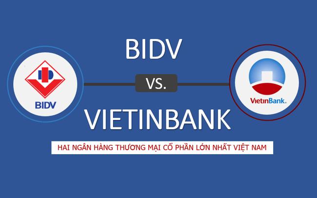 So găng hai ngân hàng lớn nhất Việt Nam