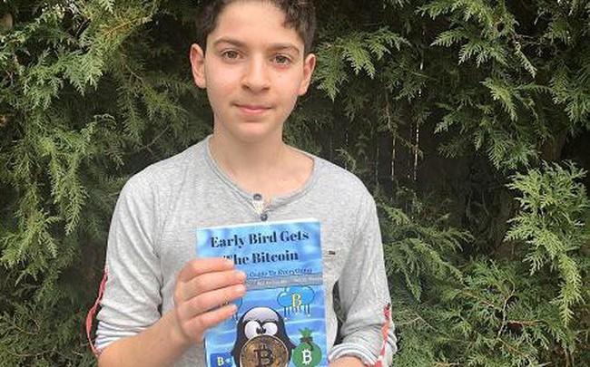Cậu bé 11 tuổi viết sách về bitcoin để trẻ em nào cũng có thể hiểu được công nghệ blockchain