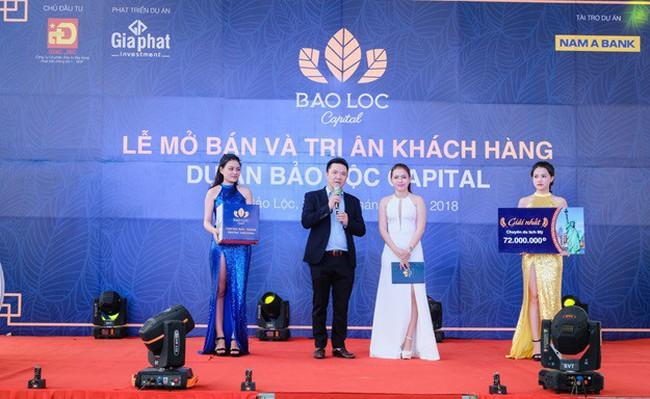 """Hơn 300 khách hàng tham dự """"Lễ mở bán và tri ân"""" dự án Bảo Lộc Capital giai đoạn 3"""