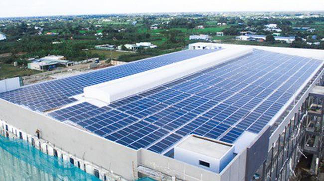 Ứng dụng điện mặt trời mái nhà - nâng cao năng lực cạnh tranh của doanh nghiệp