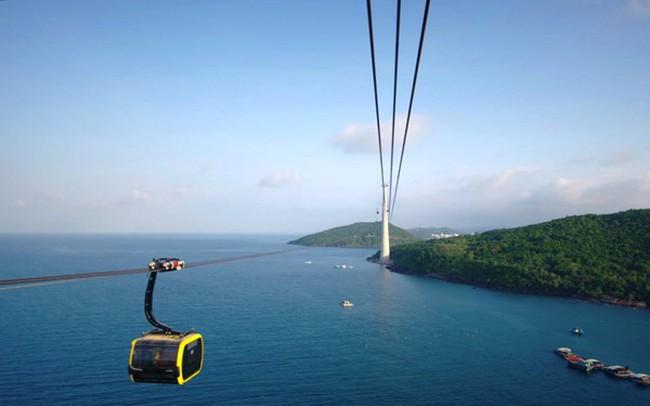 Khánh thành, đưa vào hoạt động cáp treo dài nhất thế giới tại Phú Quốc