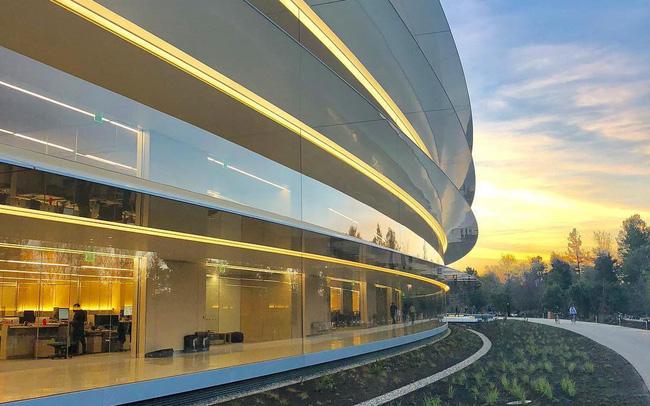 Chiêm ngưỡng trụ sở mới trị giá 5 tỷ USD của Táo khuyết