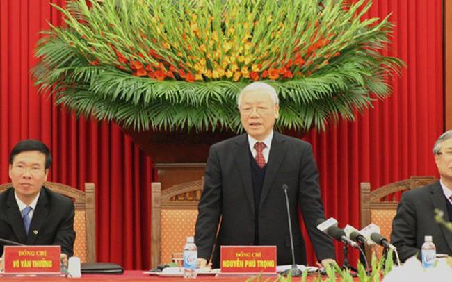 Tổng Bí thư Nguyễn Phú Trọng: Tham nhũng khó chống hơn giặc ngoại xâm