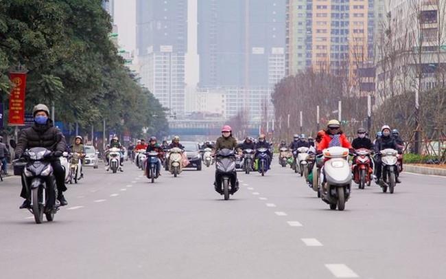 Ngắm đường 10 làn xe đẹp nhất Việt Nam tại Hà Nội