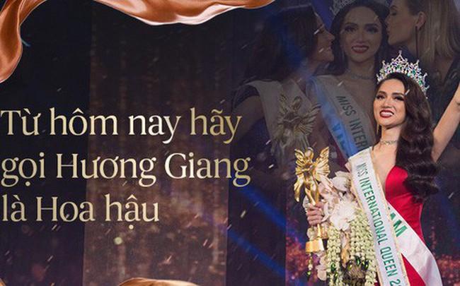 """""""Từ hôm nay hãy gọi Hương Giang là Hoa hậu"""" chính là câu nói hot nhất ngày hôm nay!"""