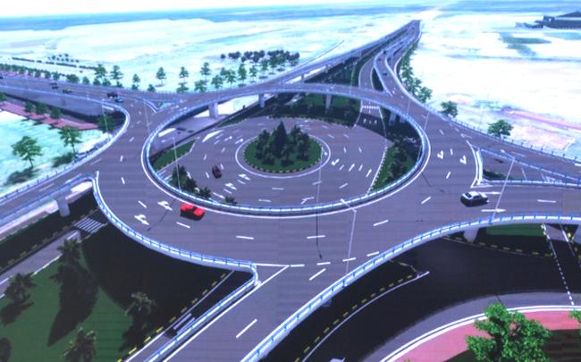 Thaco chi hơn 600 tỷ đồng đầu tư dự án nút giao 2 tầng tại Quảng Nam