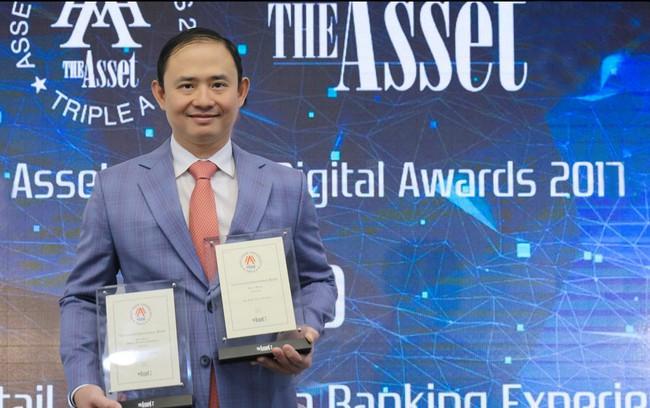 VIB nhận hai giải thưởng quốc tế về ngân hàng số Digital Banking