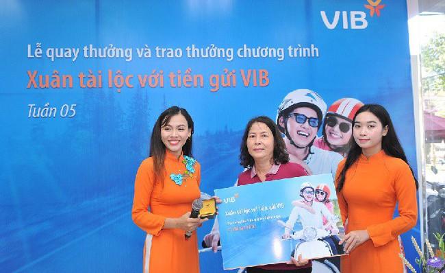 Gần 600 khách hàng đã trúng vàng khi gửi tiết kiệm tại VIB