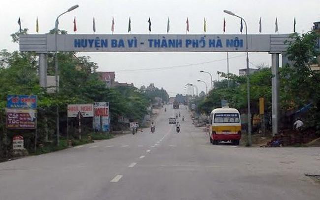 Hà Nội sắp có tuyến đường mới chạy qua thị trấn Tây Đằng, Ba Vì