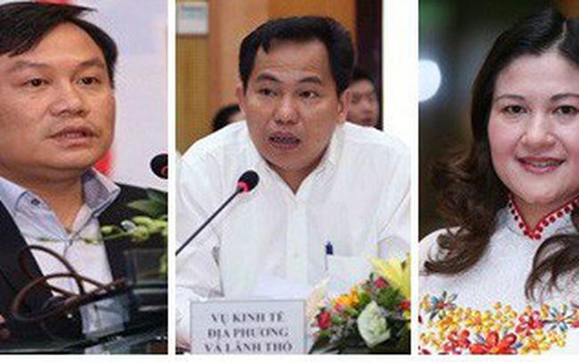 Chân dung 3 Thứ trưởng vừa được Thủ tướng bổ nhiệm