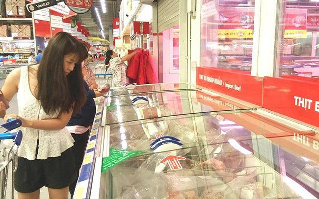 2.300 tấn thịt bò Mỹ, Úc 'tấn công' thị trường Việt