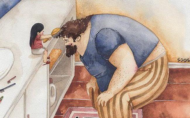 """Phần tiếp theo của bộ tranh """"Vì con gái nhỏ, cha sẽ làm tất cả"""" từng khiến cư dân mạng rưng rưng"""