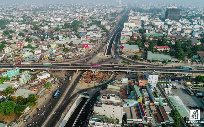 Toàn cảnh hầm chui nút giao 3 tầng lớn nhất Tp.HCM hơn 500 tỷ vừa thông xe
