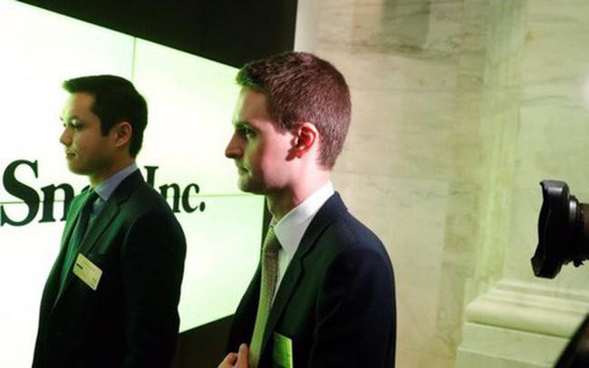 Không đạt mục tiêu đề ra, tất cả nhân viên Snap bị cắt tiền thưởng của năm 2017, nhưng CEO Evan Spiegel vẫn được nhận 637 triệu USD