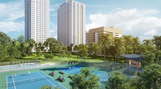 Eco-Lake View thêm điểm cộng khi khai trương tầng căn hộ hoàn thiện