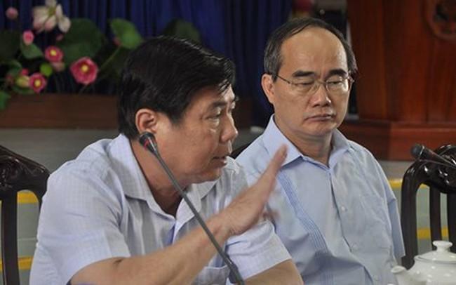 Bí thư Nguyễn Thiện Nhân chủ trì họp báo khẩn về vụ cháy chung cư Carina khiến 13 người chết