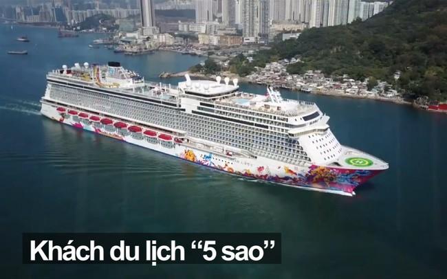 Khách quốc tế đến Việt Nam bằng du thuyền 5 sao nhưng được đón tại cảng container, 30% không xuống tàu