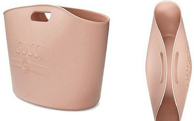 Gucci mới cho ra mắt thiết kế túi xách có giá 22 triệu, nhưng sao nhìn giống xô cao su đựng vữa thế này!