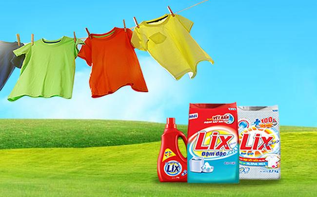 Bột giặt Lix đặt mục tiêu lãi 201 tỷ đồng năm 2018