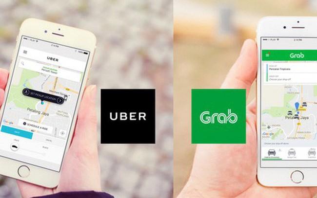 So găng Grab và Uber trước thương vụ thâu tóm đình đám