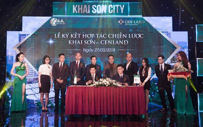 CENLAND phát triển kinh doanh dự án Khai Sơn City