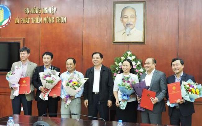 Bộ Nông nghiệp và Phát triển nông thôn bổ nhiệm một số nhân sự chủ chốt