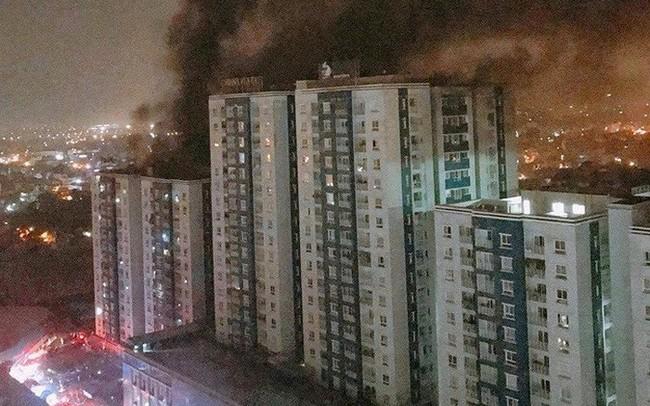 TP.HCM: Nóng chuyện truy vấn vụ cháy chung cư của 577
