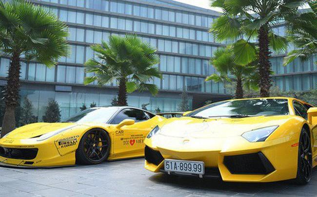 """Dàn siêu xe tham dự Car & Passion 2018 """"đổ bộ"""" khách sạn Hà Nội"""